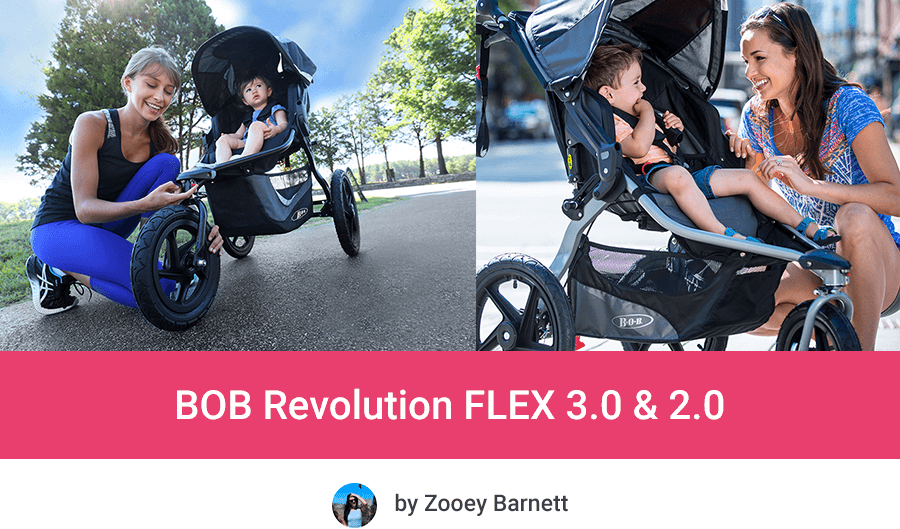 BOB Revolution FLEX 3.0 vs FLEX 2.0 - Review