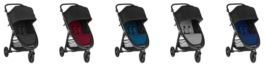 Baby Jogger City Mini GT2 2019 - Color versions