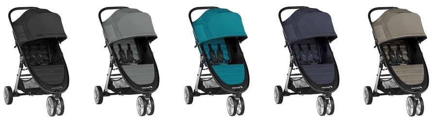 Color versions of Baby Jogger City Mini 2