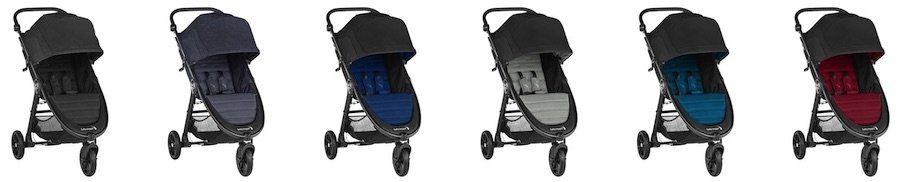 Colors of Baby Jogger City Mini GT2 2019