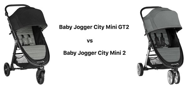 Comparison of Baby Jogger City Mini GT2 vs Baby Jogger City Mini 2