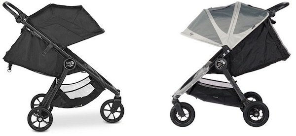 Full recline on Baby Jogger City Mini GT2 and City Mini GT