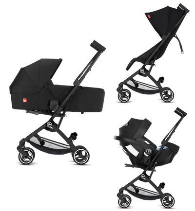 GB Pockit Plus All City - Seating configurations for newborn baby - travel system or pram