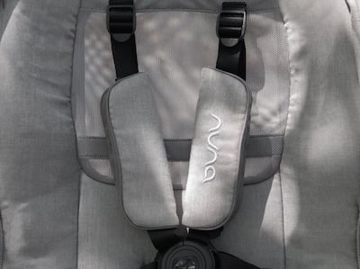 Nuna Triv has all-season seat with mesh backrest