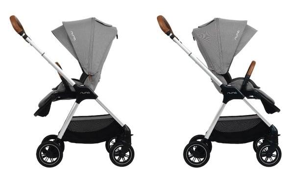 Nuna Triv stroller has reversible seat
