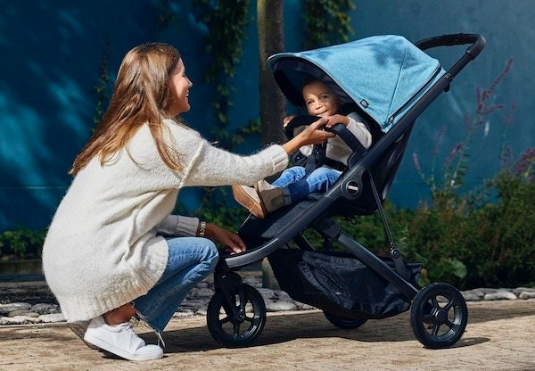 Thule Spring can hold a child up to 65 pounds