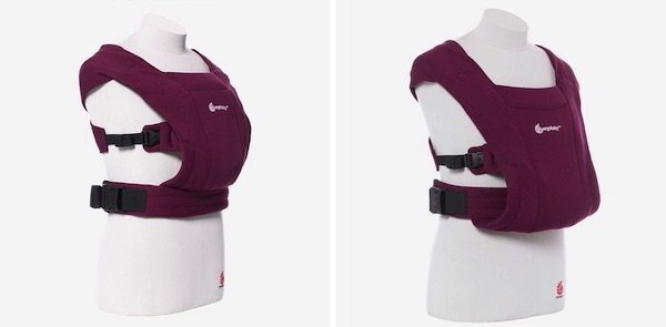 Ergobaby Embrace - The difference between newborn and baby mode