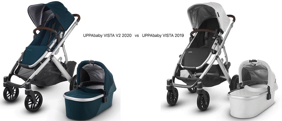 UPPAbaby VISTA V2 2020 vs UPPAbaby VISTA 2019 - Comparison