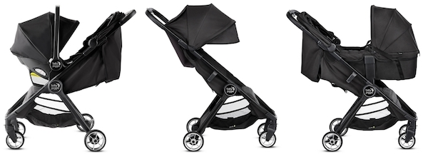 Baby Jogger City Tour 2 - Seating options for newborn baby and toddler