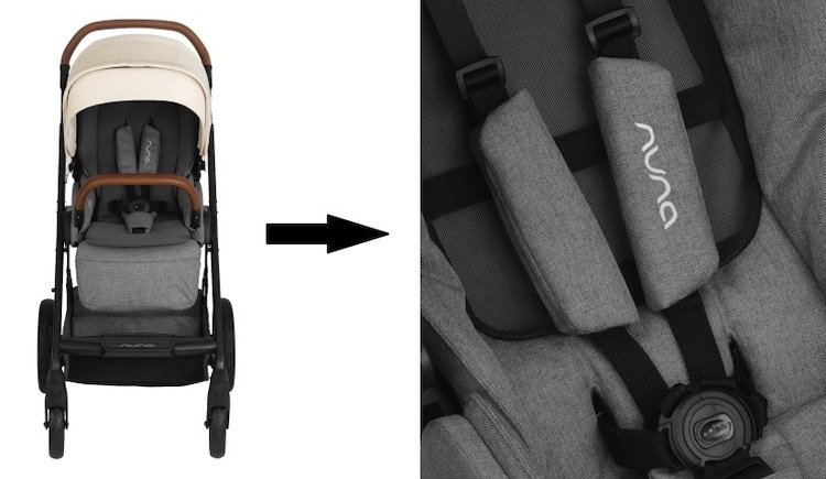 Nuna MIXX 2019 - No re-thread harness