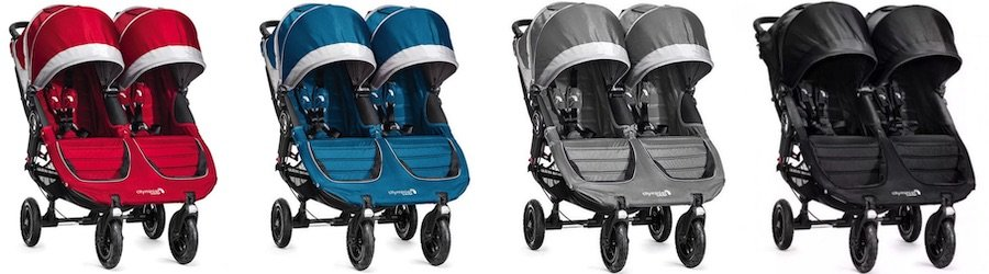 Baby Jogger City Mini GT Double - Colors