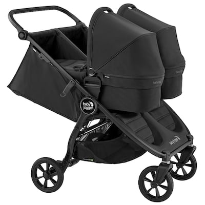 Baby Jogger City Mini GT2 Double Stroller 2020 - Can be used from birth for newborn twins if you add two bassinets