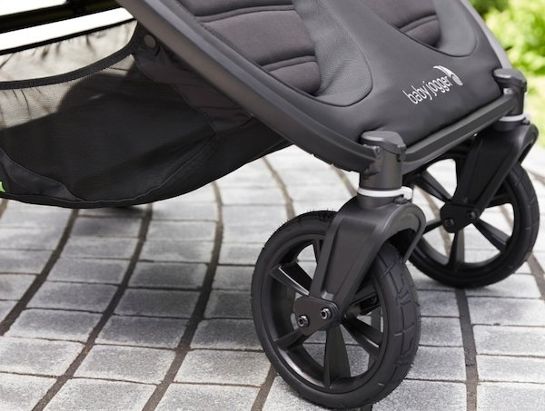 Baby Jogger City Mini GT2 Double Stroller 2020 - Redesigned wheels and suspension