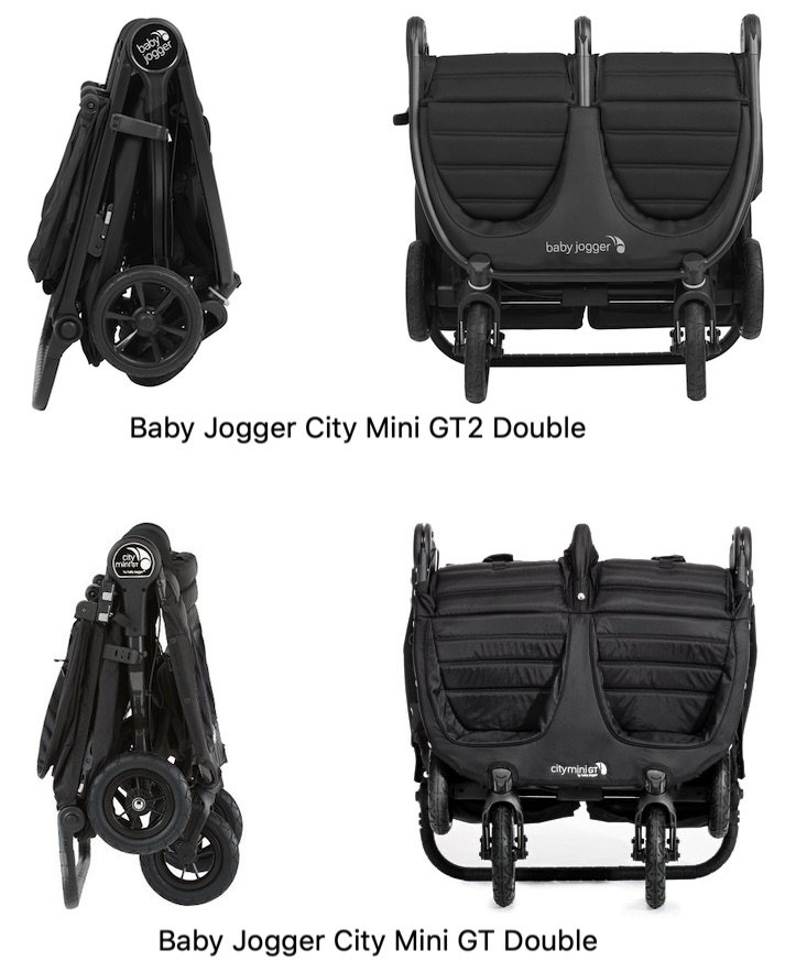 2020 Baby Jogger City Mini Gt2 Double Vs 2016 City Mini Gt