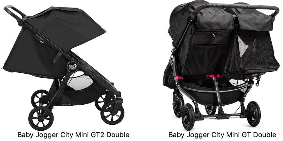 Baby Jogger City Mini GT2 Double vs GT Double - Recline