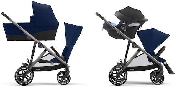 Cybex Gazelle S - Best seating options for a newborn baby and toddler