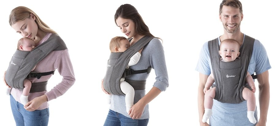 Ergobaby Embrace - carrying positions