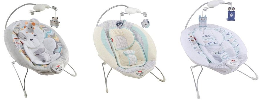 Fisher-Price Deluxe Bouncer comes in variety of patterns