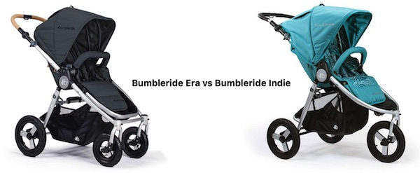 Bumbleride Indie vs Era - Comparison