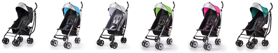 Summer 3Dlite Convenience Stroller - Color lineup