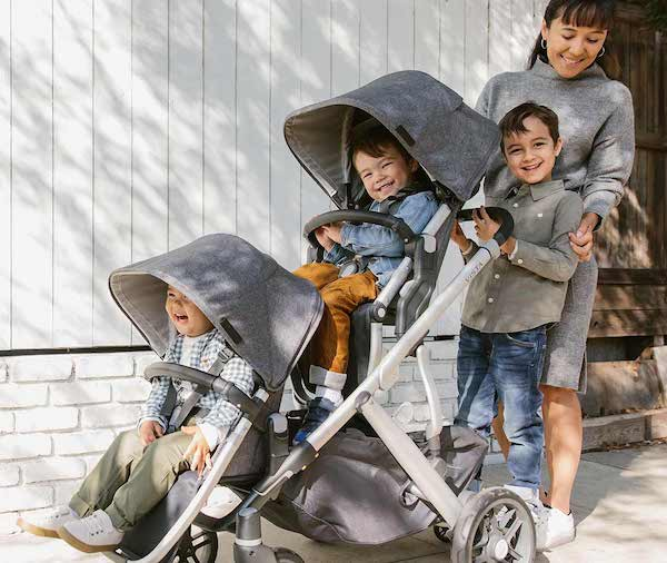 UPPAbaby VISTA V2 2020 - Expandable stroller for 1, 2 or 3 kids