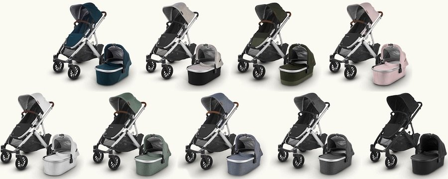 UPPAbaby VISTA V2 - All colors for 2020