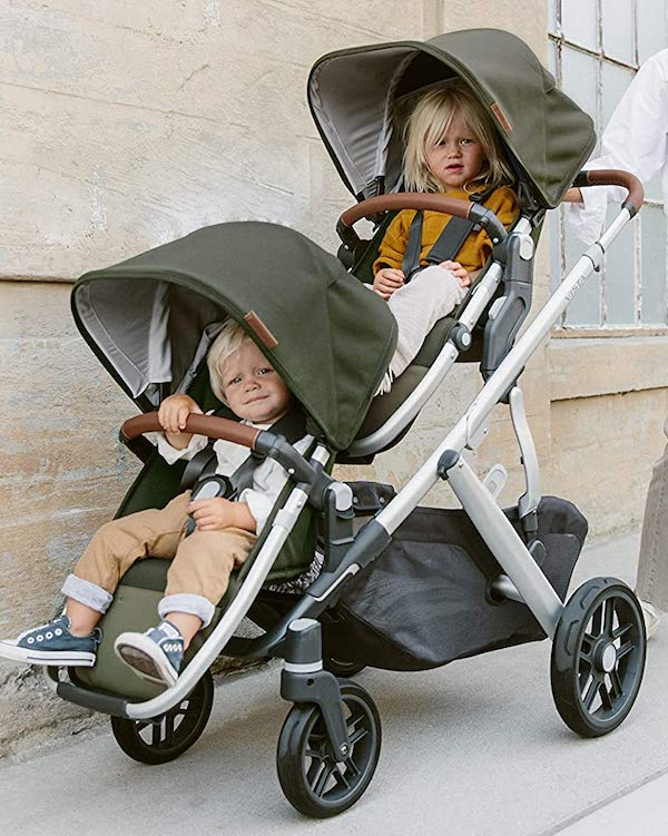 UPPAbaby VISTA V2 - easy to operate, agile stroller