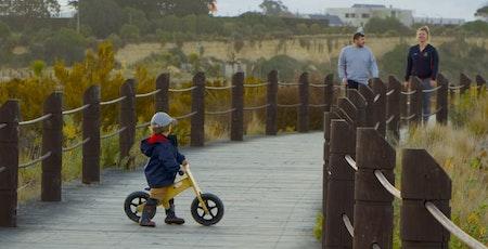 Baby balance bicycle