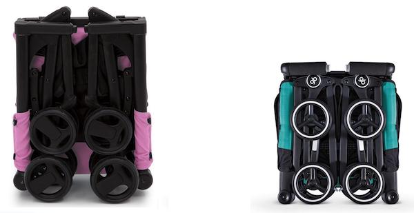 Delta Children The Clutch Stroller vs Gb Pockit - Fold
