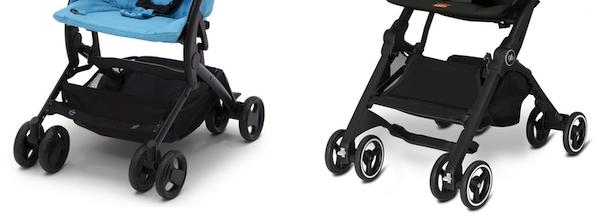 Delta Children The Clutch Stroller vs Gb Pockit - Wheels