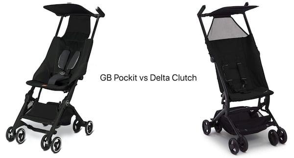Gb Pockit vs Delta Children The Clutch Stroller