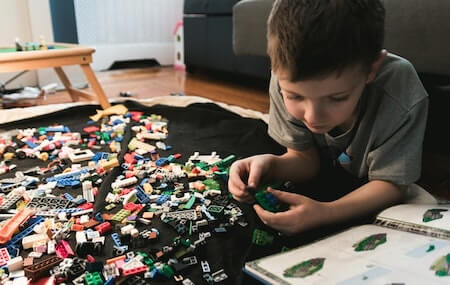 Lego City - awesome educational and fun activity for toddlers and older kids