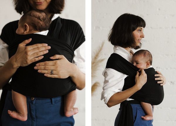 Solly Baby Wrap - Hip-healthy wrap that keep the baby in ergonomic frog position