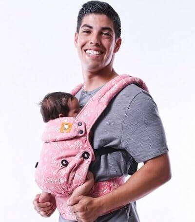 Registered Design KBC/® Multipurpose Baby Carrier Suitable up to 10kg Koala Babycare/® Baby Carrier Easy to wear Baby Carrier Adjustable Unisex Pink Easy on