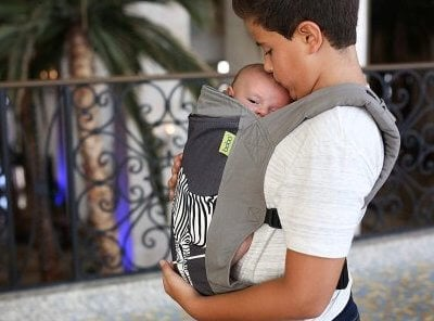 Boba 4GS Carrier - Usable from birth with included infant insert