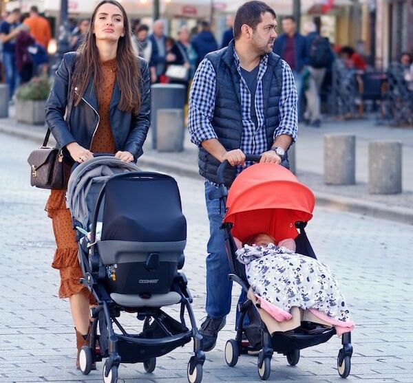 Is lightweight stroller better than a baby carrier when you travel with an infant or toddler