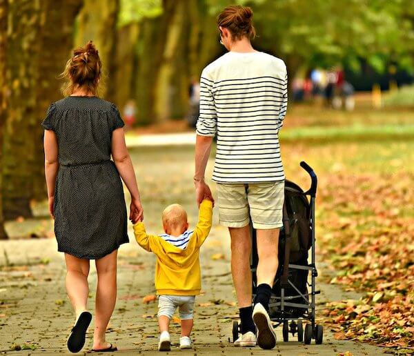 Is stroller better than baby carrier during family trip