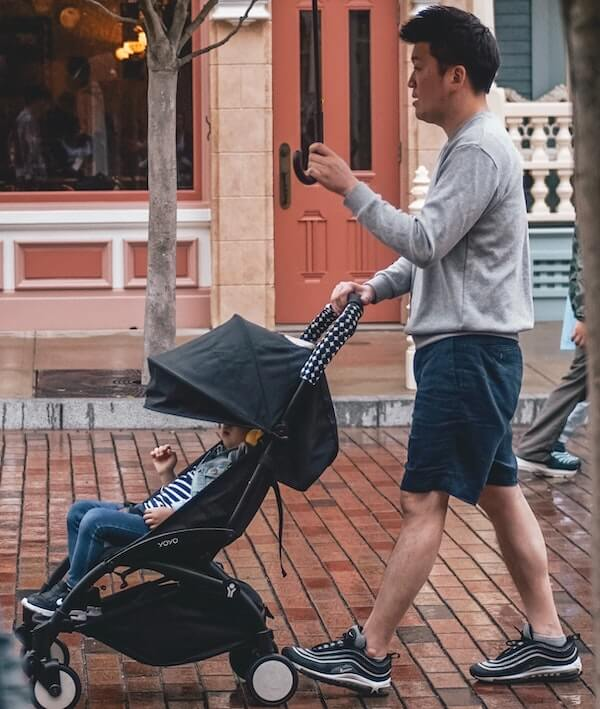 Traveling with a lightweight stroller