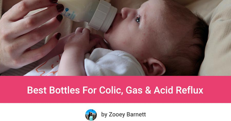 Baby Bottles For Gas and Reflux, Best Anti Colic Bottles