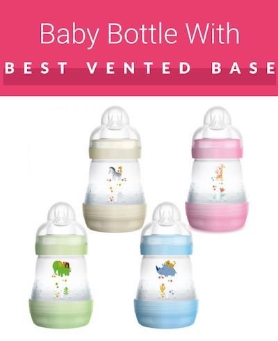 MAM Easy Start Anti-Colic Bottle in various colorful versions