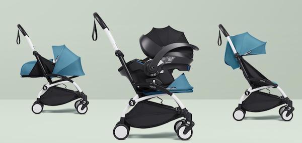 BabyZen Yoyo2 stroller seating configurations