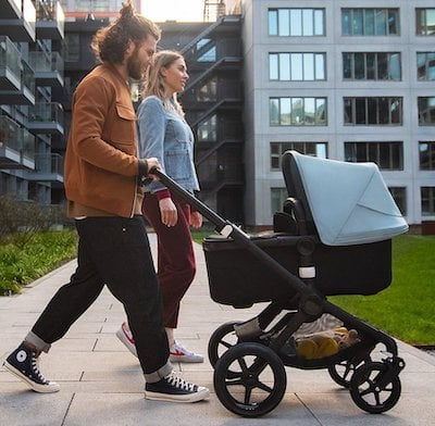 Bugaboo Fox 2 with bassinet