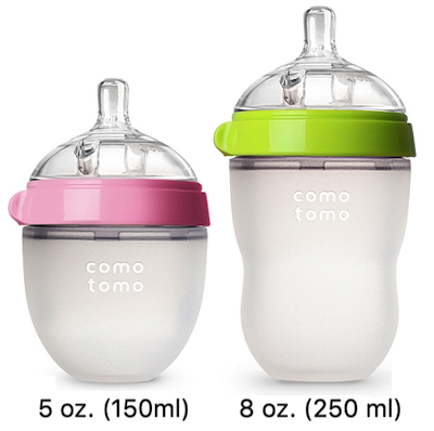 Comotomo different sizes 5oz and 8oz