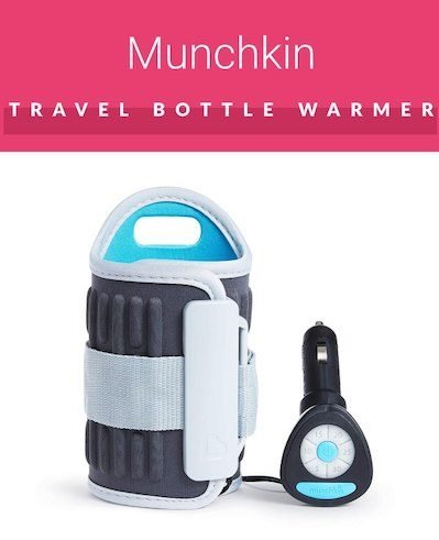 Munchkin travel bottle warmer that works with car adapter outlet