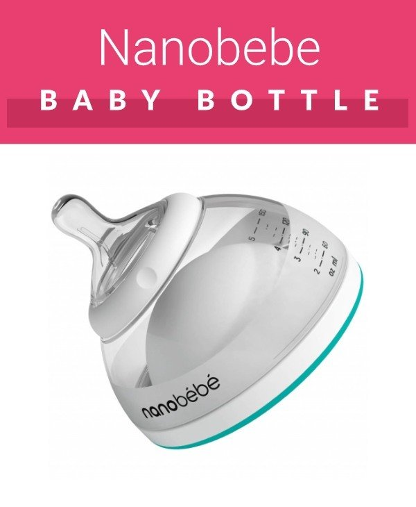 Nanobebe bottle shaped like breast