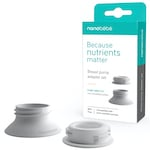 Nanobebe breast pump adapters