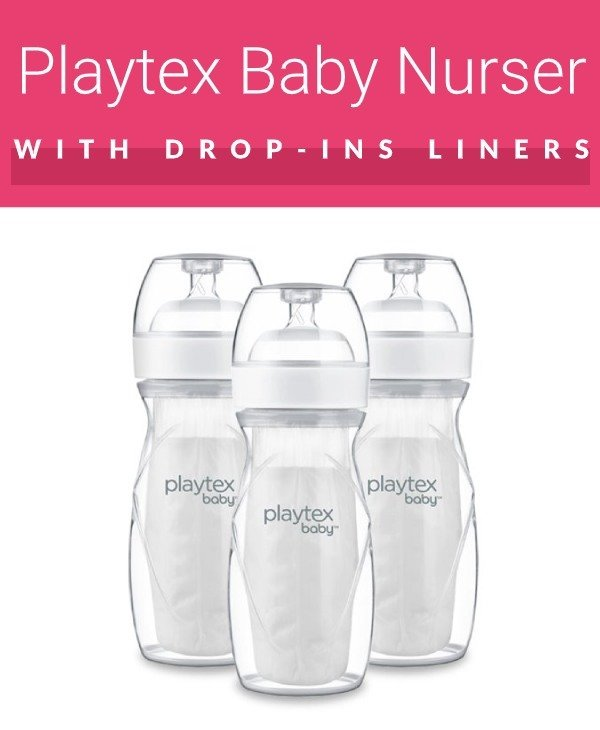 Playtex disposable bottle (with disposable inserts)