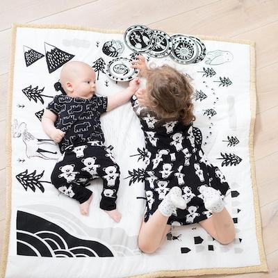Wee Gallery Play Mat for infant and toddler