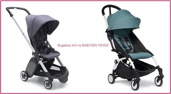 Bugaboo Ant vs YOYO Zen