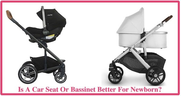 Car Seat or Bassinet For Newborn Baby, carseat stroller vs carrycot